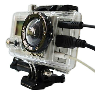 Accessories High Quality For Action Camera Gopro 2 Gopro 1 Sports DV Plastic