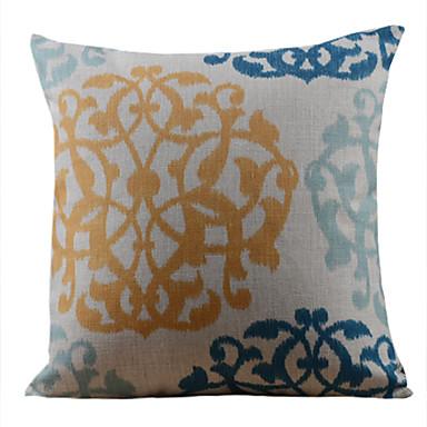 1 pcs Cotton/Linen Pillow Cover, Floral Country