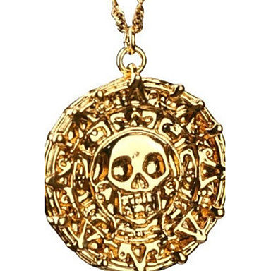 Men's Skull Pendant Necklace Alloy Pendant Necklace , Christmas Gifts Party Daily Casual