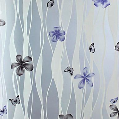 secesní motiv Klasik Fólie na okna, PVC/Vinil Materiál dekorace oken Ložnice Obývák Obchod s kávou / kavárna