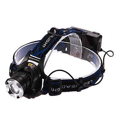 Stirnlampen LED 900/1600/1200/450 lm 3 Beleuchtungsmodus inklusive Batterien und Ladegerät Wiederaufladbar Multifunktion