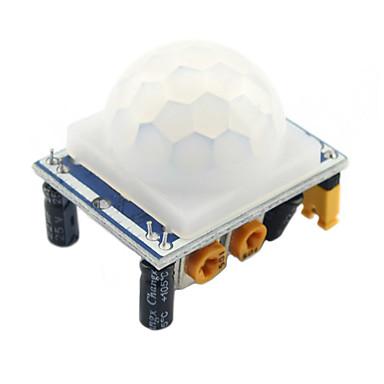 Pro Arduino HC-SR501 senzor pyroelektrický infračervený pohybový