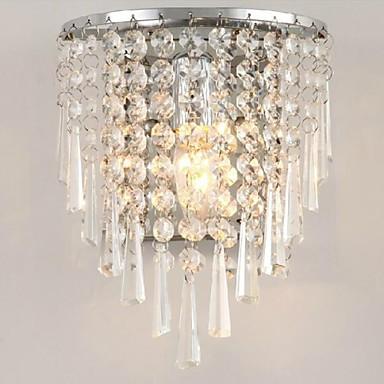 LightMyself™ Kristall Modern / Zeitgenössisch Wohnzimmer Wandleuchte 110-120V / 220-240V 3W