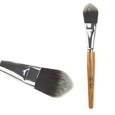 Professionel Make-up pensler Foundationbørste 1 Rejse blanding Premium fejlfri polering punktering Concealer Syntetisk Hår / Kunstig Fiber Børste til Khaki Flydende Pudder