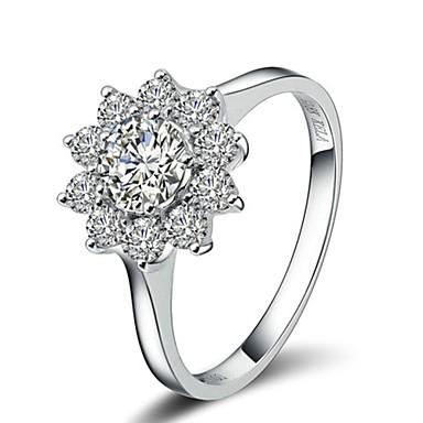 Damen Krystall / vergoldet Statement-Ring - Modisch Silber / Golden Ring Für Hochzeit / Party / Normal