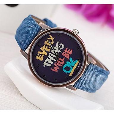 Pentru femei Ceas de Mână Ceas La Modă Quartz PU Bandă Ceas Global Albastru Verde Yellow