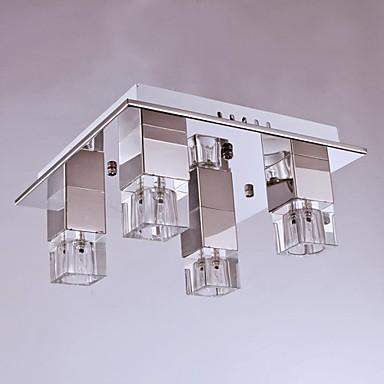Modern / Hedendaags Op plafond bevestigd Toortswandlamp - Kristal, 110-120V 220-240V Lamp Inbegrepen