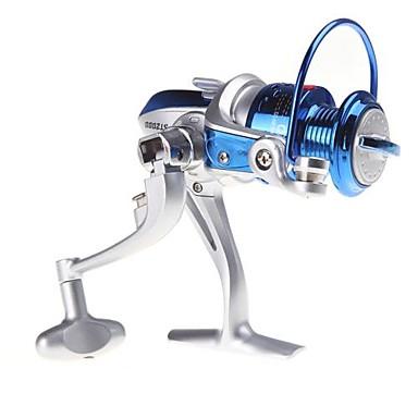 Fiskehjul Spinne-hjul 5.1:1 8.0 Kuglelejer Højrehåndet / ombyttelig / Venstrehåndet Havfiskeri / Spinning / Ferskvandsfiskere