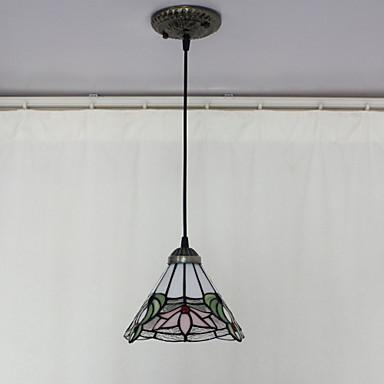 Pendant Light Downlight - Mini Style, Tiffany Bowl, 110-120V 220-240V Bulb Not Included