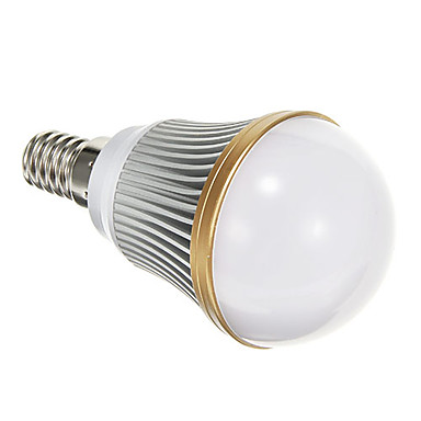 E14 LED Globe Bulbs leds SMD 5730 Warm White 400lm 3000K AC 85-265V