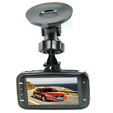 GS8000L 480p HD 1280 x 720 1080p Full HD 1920 x 1080 Car DVR 140 Degree 2.7inch TFT LCD monitor Dash Cam with Loop-cycle Recording