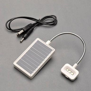 3 LED-uri de lumină de lectură Multifunctional Solar Light urgență Yable lampă