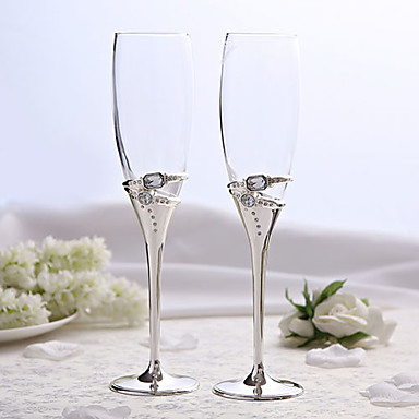 Material Lead-free Glass Toasting Flutes Gift Box Holiday Classic Theme All Seasons