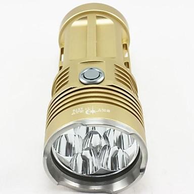 A9 Lanterne LED Frontale Felinare & lumini pentru cort Lanterne HID Lanterne de Scufundări 8000 Lumeni Mod Cree XM-L T6 Rezistent la