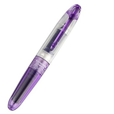 žákem stylové fialové inkoustové cartridge pen fountain pen \\