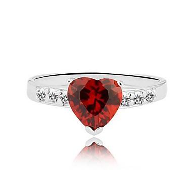 Pentru femei Inel de declarație Rosu Plastic Modă Nuntă Petrecere Zilnic Costum de bijuterii