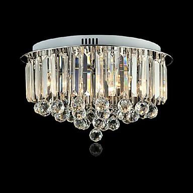 Modern / Zeitgenössisch Unterputz Raumbeleuchtung - Kristall LED, 220v Glühbirne nicht inklusive