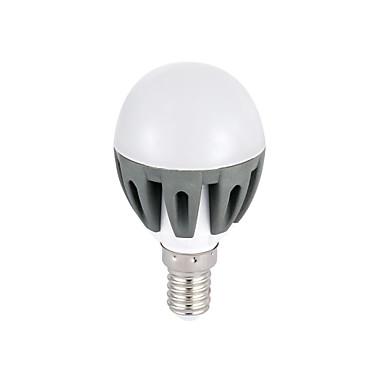 E14 Круглые LED лампы G45 18 SMD 2835 300lm lm Тёплый белый Холодный белый 3000K К Декоративная AC 220-240 V