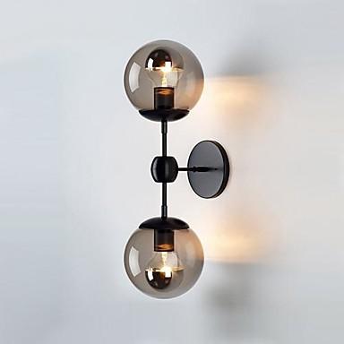 Moderno - Contemporaneo Lampade Da Parete Metallo Luce A Muro 110-120v - 220-240v 60w #01612453
