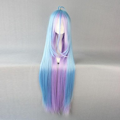 Cosplay Wigs No Game No Life Cosplay Anime Cosplay Wigs 105 CM Heat Resistant Fiber Women's