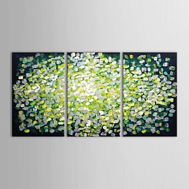 Ručno oslikana Sažetak Vodoravna panoramska Platno Hang oslikana uljanim bojama Početna Dekoracija Tri plohe