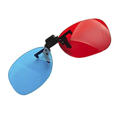 partea reedoon roșu albastru de partea miopie prindere costume bucată de ochelari 3D pentru calculator