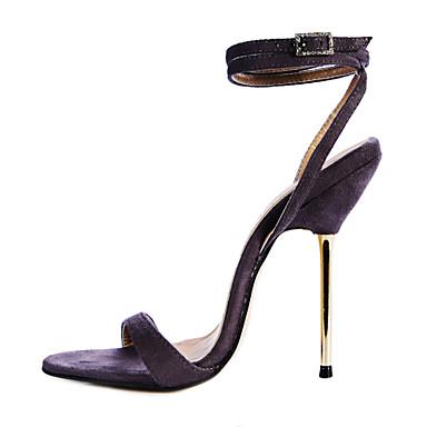 Flocking Women's Stiletto Heel Slingback Sandals Shoes(More Colors)