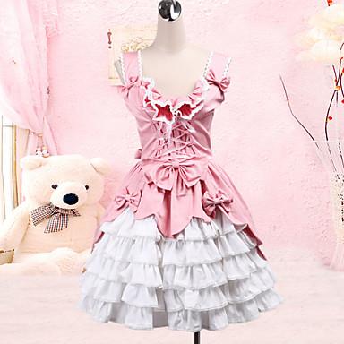 Sweet Lolita Princeznovské Dámské Svetrová sukně Cosplay Bez rukávů