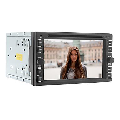 6.2-Zoll-2 din Universalauto-DVD-Spieler mit Radio, DVD, SD, USB, Bluetooth, iPod