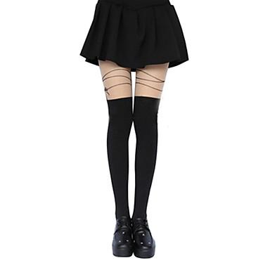 Strümpfe / Strumpfhosen / Oberschenkellange Socken Klassische / Traditionelle Lolita Lolita Lolita Damen Lolita Accessoires Druck / Blume