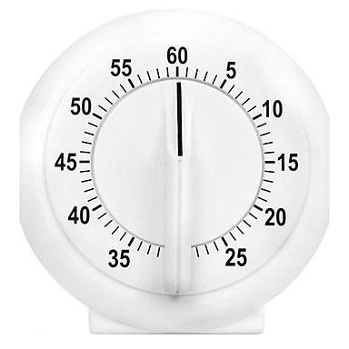 Clasic timer Icon mecanic de bucatarie Cronometru din plastic (3.2X2.8X0.8 inch)
