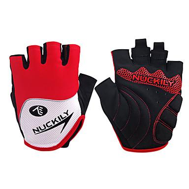 Nuckily Akvitita a sport Cyklistické rukavice Nositelný Prodyšné Odolný proti opotřebení Ochranný Odolné vůči šokům Bez prstů Lycra
