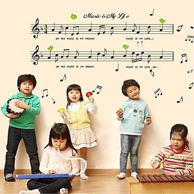 Doudouwo ® Music fritidsliv Wall Stickers