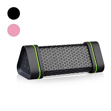 Wasserdicht Bluetooth 2.1 2.5 mm AUX Lautsprecher für Aussenbereiche Schwarz Rosa