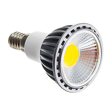 6W 250-300 lm E14 E26/E27 LED-spotpærer leds COB Mulighet for demping Varm hvit Kjølig hvit AC 220-240V