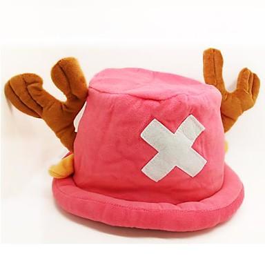 Pălărie/Șapcă Inspirat de One Piece Tony Tony Chopper Anime Accesorii Cosplay Pălărie Roz Lână polară Bărbătesc / Feminin