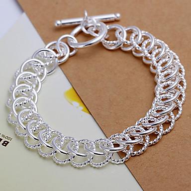 f8bacb609 élénk női százlábú ezüst lemez karkötő klasszikus női stílusban ...