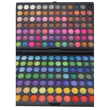168 farver Øjenskygger / Pudder Øjne Festmakeup Makeup Kosmetiske / Mat / Glans