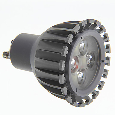 7W GU10 LED bodovky 3 High Power LED 500 lm Chladná bílá AC 100-240 V