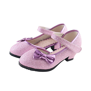 Sparkling Glitter Girls' Flat Heel Mary Jane Flats with Bowknot Sequin Shoes(More Colors)