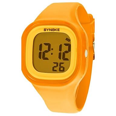 Pentru femei Ceas digital Ceas de Mână Ceas Elegant  Ceas La Modă Quartz Piloane de Menținut Carnea Ceas Casual Silicon Bandă Cool Orange