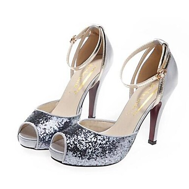Eté 01789255 Printemps Chaussures Femme amp; Aiguille Paillette Evénement Paillette Plateau Talon Mariage Doré Rouge Argenté Soirée qfHwnawx