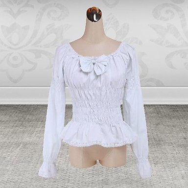 Schattig Geïnspireerd door vintage Dames Blouse/Shirt Cosplay Lange mouw
