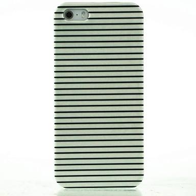 iPhone 7, plus negru& dungi albe model greu caz pentru iPhone 5 / 5s