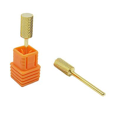 модные золотые круглые формы пилочка для ногтей искусство Сверла для маникюра