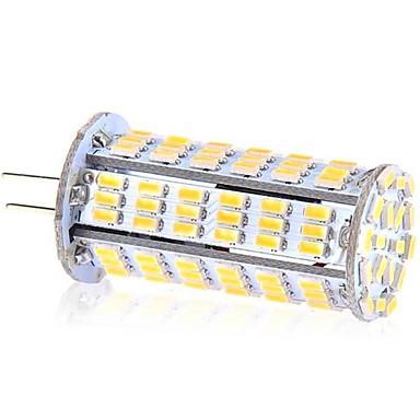 YWXLIGHT® 5W 400 lm G4 LED-maïslampen T 126 leds SMD 3014 Koel wit DC 24V AC 24V AC 12V DC 12V