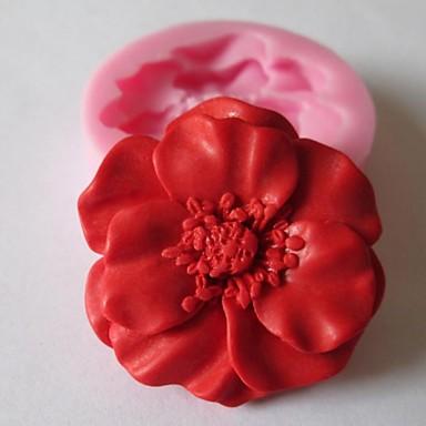 coacere Mold Floare Biscuiți Ciocolatiu Tort Silicon Ecologic ziua îndragostiților Reparații