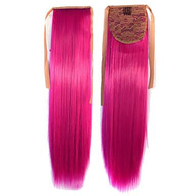Hot Selling Peny Tail Hair Clips Kleur Kleurrijke Red Bar Groothandel Hair Extension Fuchsia Leuke Sexy