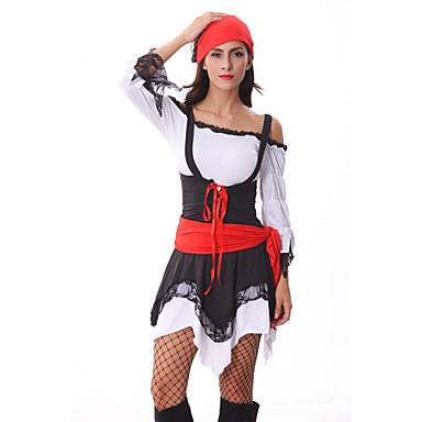 Pirat Costume Cosplay Costume petrecere Feminin Festival/Sărbătoare Costume de Halloween Halloween Carnaval Peteci