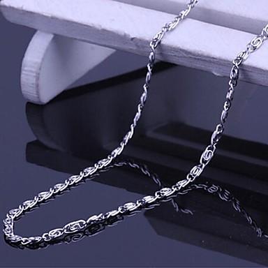 Anderen Schmetterling Ketten  -  Personalisiert Einzigartiges Design Modisch Tier Silber Modische Halsketten Für Geschenk Alltag Normal
